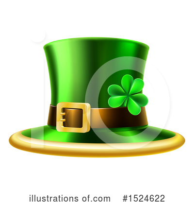 Leprechaun Clipart #1524622 by AtStockIllustration