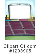 Stadium Clipart #1298905 by BNP Design Studio