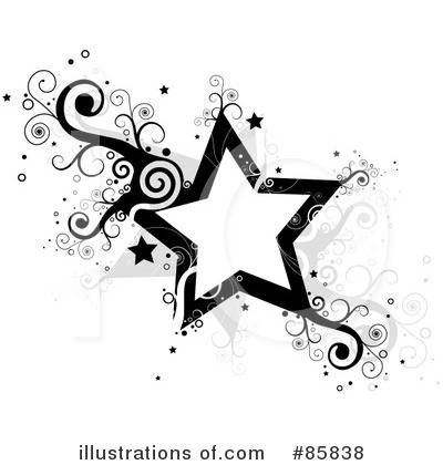 Star Clipart 85838 Illustration By Bnp Design Studio