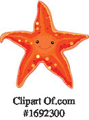 Starfish Clipart #1692300 by Pushkin