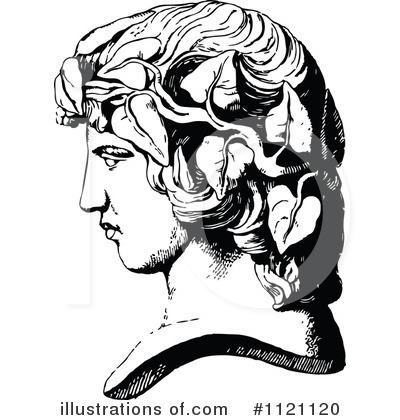 Statue Clipart #1121120 - Illustration by Prawny Vintage