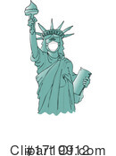 Statue Of Liberty Clipart #1719912 by djart