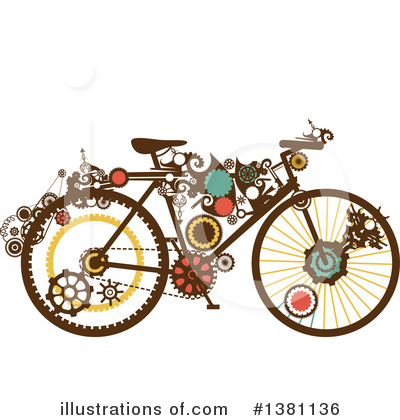 Bicycle Clipart #1381136 by BNP Design Studio