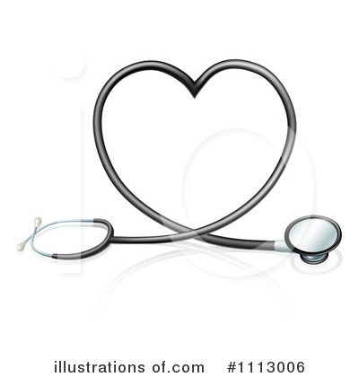 Stethoscope Clipart #1113006 by AtStockIllustration