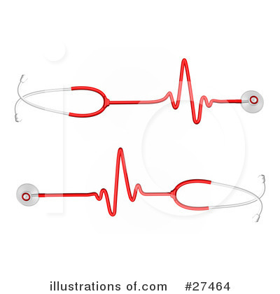 Royalty-Free (RF) Stethoscope Clipart Illustration by Frog974 - Stock Sample #27464
