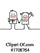 Stick People Clipart #1708764 by NL shop