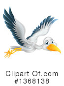 Stork Clipart #1368138 by AtStockIllustration
