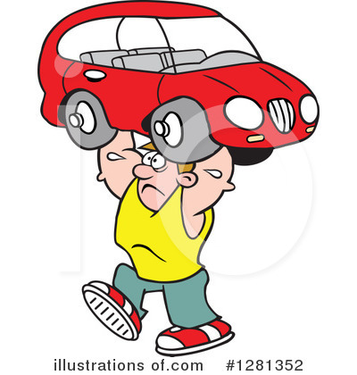 Car Clipart #1281352 by Johnny Sajem