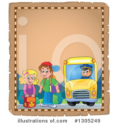 School Bus Clipart #1305249 by visekart