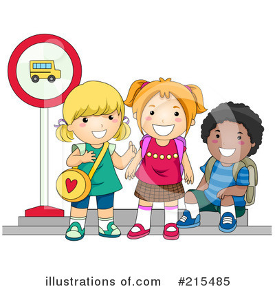 School Bus Clipart #215485 by BNP Design Studio