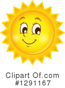 Sun Clipart #1291167 by visekart
