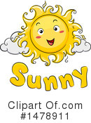 Sun Clipart #1478911 by BNP Design Studio