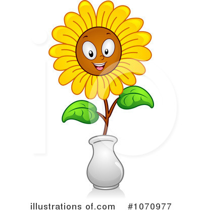 Sunflower Clipart #1070977 by BNP Design Studio