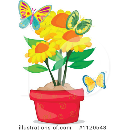 Sunflower Clipart #1120548 by Graphics RF