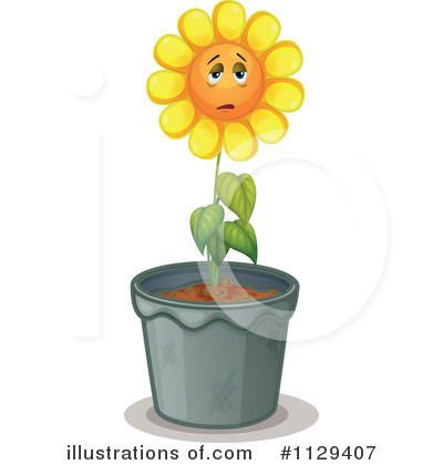 Sunflower Clipart #1129407 by Graphics RF