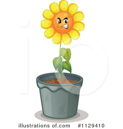 Sunflower Clipart #1129410 by Graphics RF