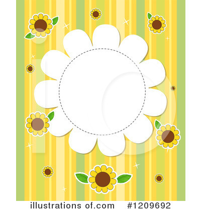 Sunflower Clipart #1209692 by Graphics RF