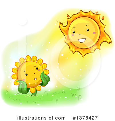 Sunflower Clipart #1378427 by BNP Design Studio