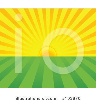 Sunrise Clipart #103870 - Illustration by Pushkin