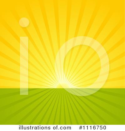 Sunrise Clipart #1116750 - Illustration by dero