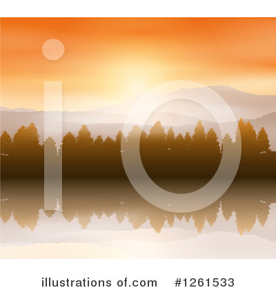 Mountains Clipart #1261533 by KJ Pargeter