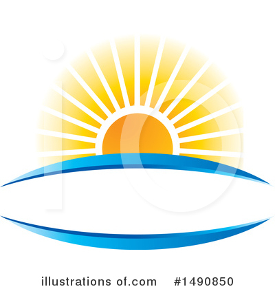 Sunset Clipart #1490850 by Lal Perera