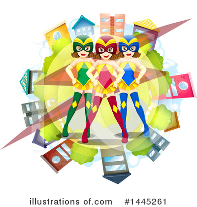 Super Woman Clipart #1445261 by Graphics RF