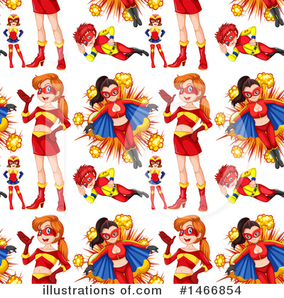 Super Woman Clipart #1466854 by Graphics RF