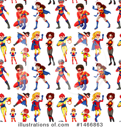Super Woman Clipart #1466863 by Graphics RF