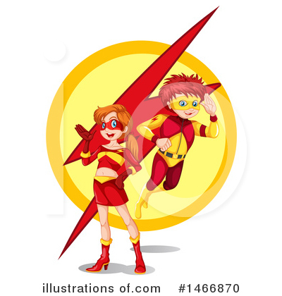 Super Woman Clipart #1466870 by Graphics RF