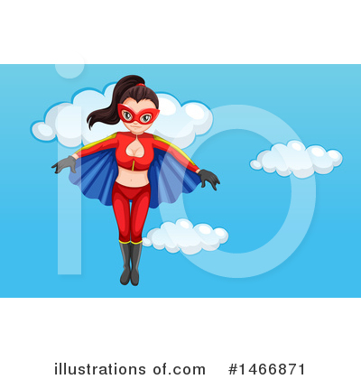 Super Woman Clipart #1466871 by Graphics RF