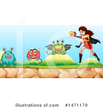 Super Woman Clipart #1471170 by Graphics RF
