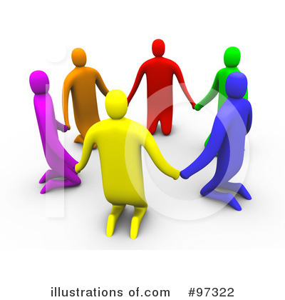 Support Group Clipart #97322 - Illustration by 3poD