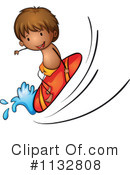 Surfing Clipart #1132808 by Graphics RF