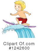 Surfing Clipart #1242600 by BNP Design Studio
