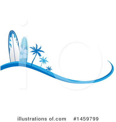 Royalty-Free (RF) Surfing Clipart Illustration by Domenico Condello - Stock Sample #1459799