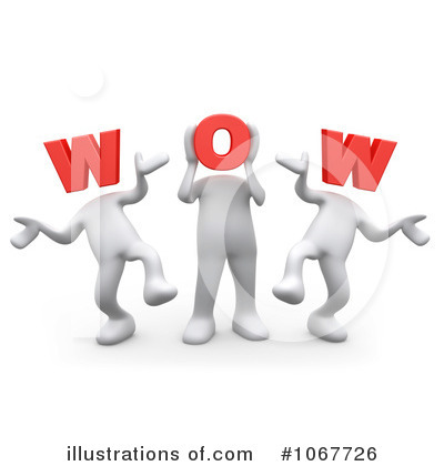 Surprise Clipart #1067726 - Illustration by 3poD