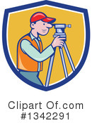 Surveyor Clipart #1342291 by patrimonio