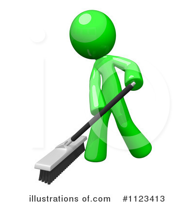 Cleaning Clipart #1123413 by Leo Blanchette