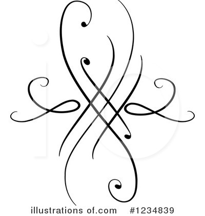 Swirl Clipart #1234830 - Illustration by BNP Design Studio