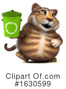 Tabby Cat Clipart #1630599 by Julos