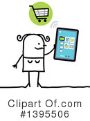 Tablet Computer Clipart #1395506 by NL shop
