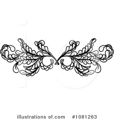 Flourish Clipart #1081263 by AtStockIllustration