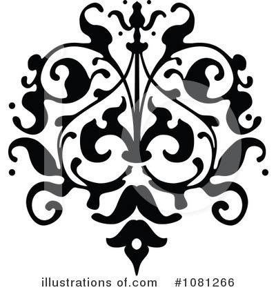 Flourish Clipart #1081266 by AtStockIllustration