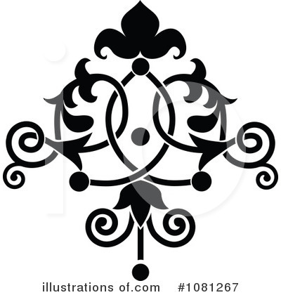 Flourish Clipart #1081267 by AtStockIllustration