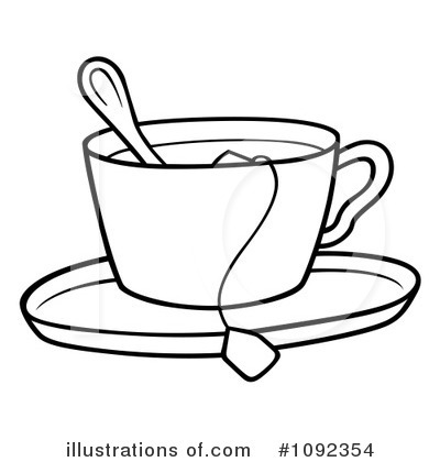 Tea Bag Coloring Page. Tea. Free printable coloring pages, books ...