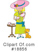 Tea Time Clipart #18856 by Maria Bell