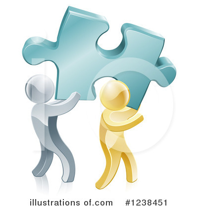 Teamwork Clipart #1238451 by AtStockIllustration