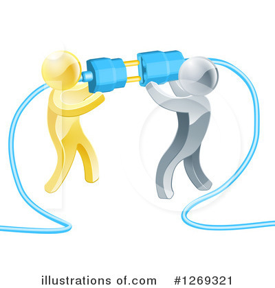 Teamwork Clipart #1269321 by AtStockIllustration