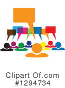 Teamwork Clipart #1294734 by ColorMagic